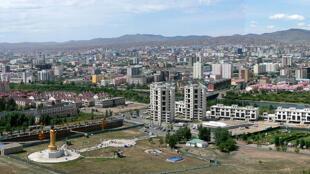 蒙古首都烏蘭巴托市