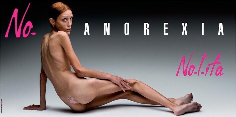 La modelo Isabelle Caro