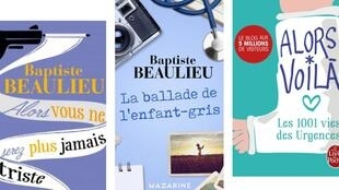 'Bouquins' (libros) de Baptiste Beaulieu, médico y escritor.