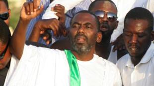 Biram Ould Dah Ould Abeid, président de l'Intiative pour la résurgence du mouvement abolitionniste en Mauritanie (IRA). Son combat lui a valu d'être emprisonné plusieurs mois en 2012.