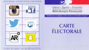 """Nhiều ứng dụng """"lên ngôi"""" trong mùa tranh cử tổng thống Pháp 2017."""
