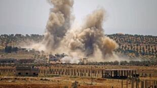 Malgré les bombardements du régime, le groupe EI poursuit ses attaques dans la province de Deraa. (Photo d'illustration).