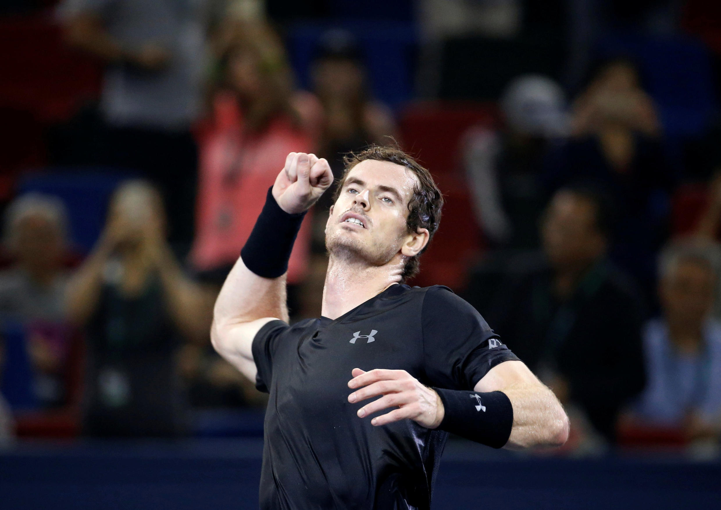 Andy Murray has a chance at the Paris Masters of reaching world number one for the first time in his career.