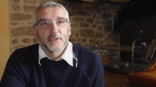 Alain Favière, maire démissionnaire d'Anzème, dans la Creuse.