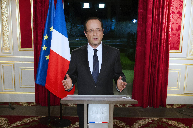 Новогоднее обращение президента Франции