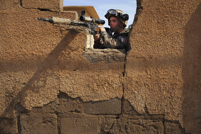 Mwanajeshi wa Ufaransa katika mapigano nchini Mali