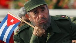 Raisi wa zamani wa Cuba na mwanamapinduzi Fidel Castro