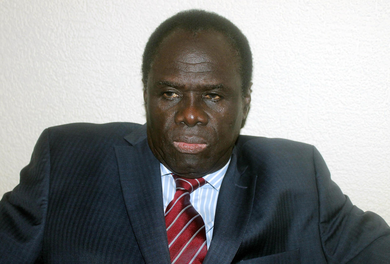Le président de la transition burkinabè, Michel Kafando, le 17 novembre à Ouagadougou.