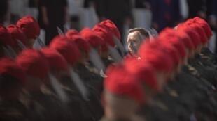Президент Польши Анджей Дуда во время церемонии по случаю 80-й годовщины начала Второй мировой войны