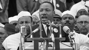 """I have a dream"" speech by Martin Luther King on 28 August 1963"