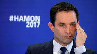 Socialist presidential candidate Benoit Hamon is having trouble attracting left-wing support away from centrist Emmanuel Macron