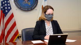 美国国防部副部长凯思林·希克斯资料图片