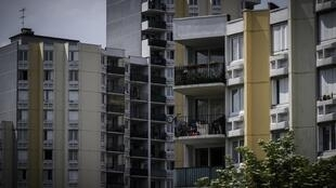 Des immeubles en banlieue parisienne. (Image d'illustration)