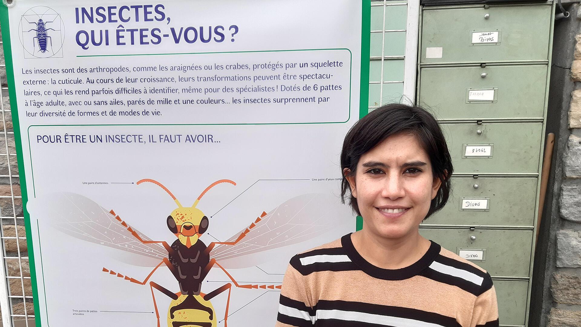 Elsa Barreda Ruiz, chargée de communication scientifique de l'Institut de Recherche pour le Développement.