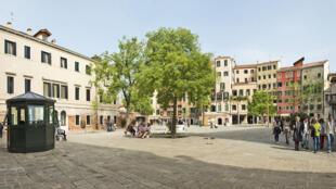 Главная площадь Венецианского гетто