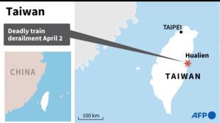 Taiwan train derailment