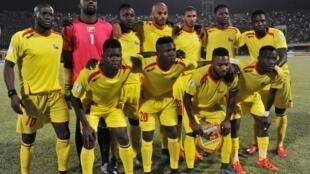L'équipe nationale de football du Bénin.