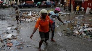 Haïti, le 3 octobre 2016.