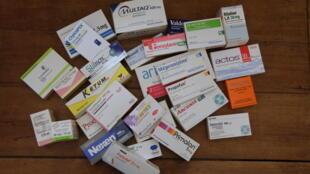 Một số loại thuốc ở Pháp. Ảnh minh họa.