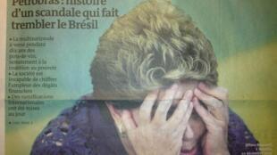 """""""Petrobras: história de um escândalo que faz o Brasil tremer"""", diz Le Monde."""
