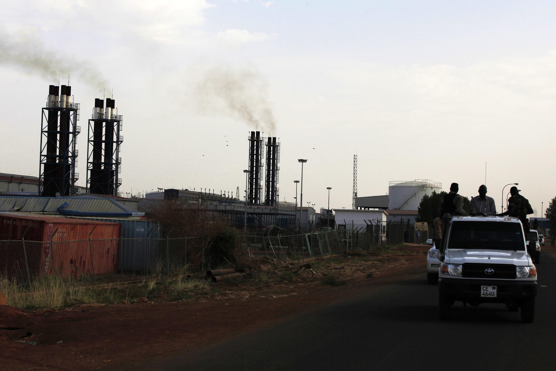 Le site pétrolier de Paloch dans le Soudan du Sud en 2014. La majorité de l'argent détourné s'est fait via des collectes sur les revenus pétroliers.