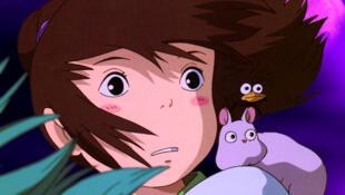 Scène tirée du film «Le Voyage de Chihiro», d'Hayao Miyazaki.