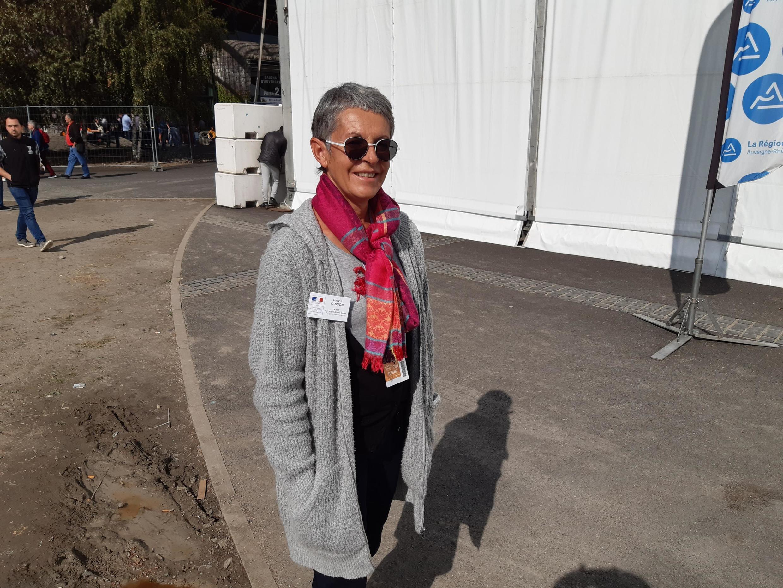 Sylvie Vasson, travaille à la direction régionale de l'alimentation, de l'agriculture et de la forêt Auvergne Rhône-Alpes