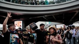 Protestos na Tailândia