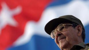 Le président cubain Raul Castro en 2008 à La Havane.