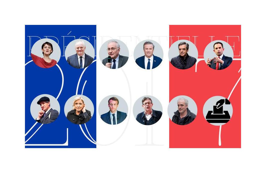 Candidatos à eleição presidencial francesa