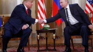 特朗普与普京在赫尔辛基举行峰会