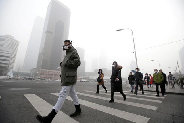 北京冬季是雾霾猖獗的季节