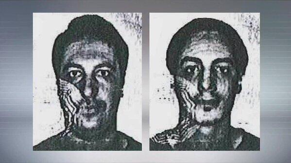 Ảnh hai nghi phạm mới Soufiane Kayal và Samir Bouzid, theo danh tính trên căn cước Bỉ..