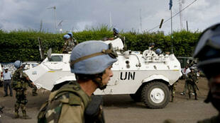 UN peacekeepers in Goma, DRC