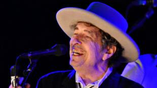 Ca sĩ Mỹ Bob Dylan, ảnh chụp năm 2012.