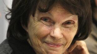 Danielle Mitterrand, en Poitiers, el 2 de octubre de 2009.