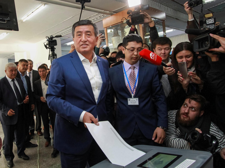 В 2017 году Жээнбекова (на фото) называли ставленником Атамбаева