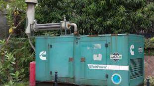 Le Chakr Shield, filtre à particules de carbone pour générateurs de diesel.