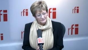 Nicole Notat, présidente de l'agence Vigéo, ancienne secrétaire générale de la CFDT le 15 novembre 2012.