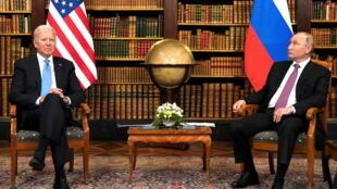 Joe Biden - Vladimir Poutin - sommet - Genève