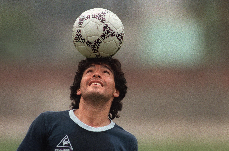 Diego Maradona, à Mexico, le 22 mai 1986