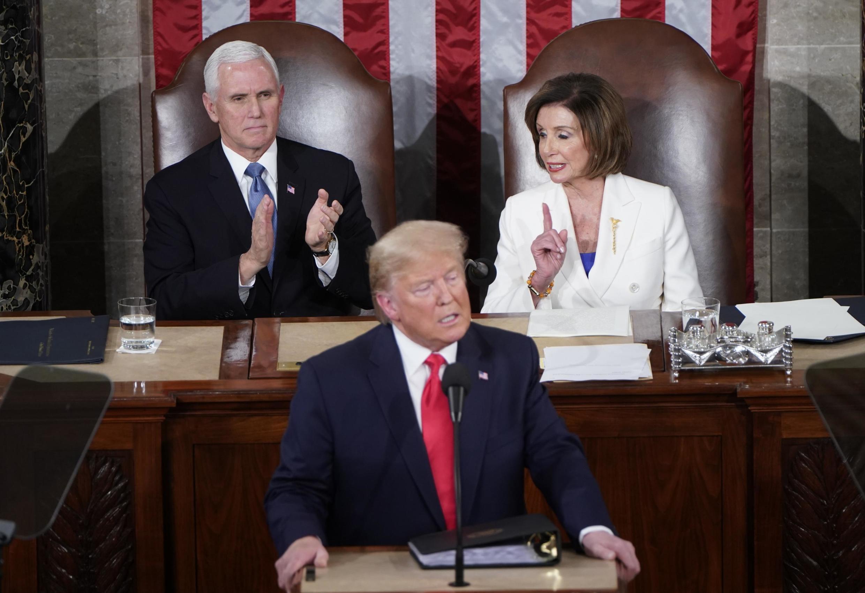 Trump fez nessa terça-feira (4), no Congresso, o tradicional discurso de Estado da União.