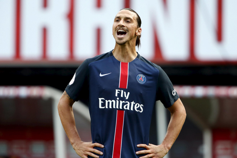 Zlatan Ibrahimovic, avançado sueco do PSG.