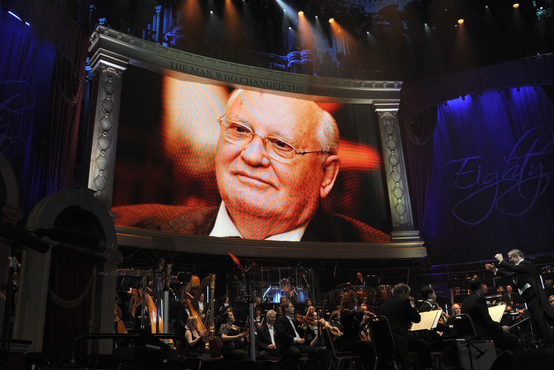 Лондонский симфонический оркестр на праздновании 80-летия Михаила Горбачева 30 марта 2011 г.