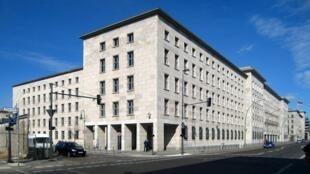 L'ancien siège de la Treuhand, de 1991 à 1994, à Berlin.