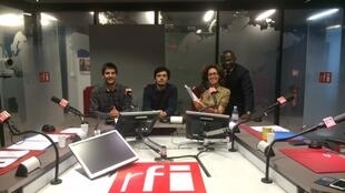Emmanuelle Bastide, Didier Acouetey, Gilles Lecerf et Paul Knoery.