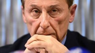 Le président de la Fédération française des sports de glace (FFSG) Didier Gailhaguet.