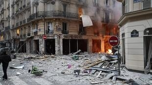 Взрыв произошел около 9 утра в центре города