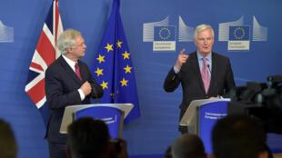 Wakilin Tarayyar Turai Michael Barnier a tattaunawar ficewar Birtaniya
