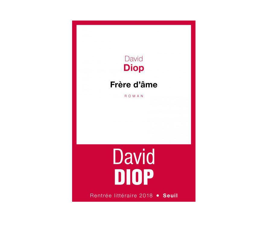 La couverutre du roman de David Diop «Frère d'âme».